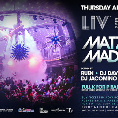 MATZO MAYHEM 2017 @ LIV Miami