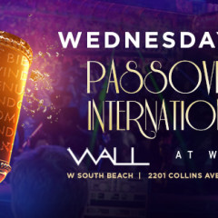PASSOVER 2017 INTERNATIONAL NIGHT @ WALL at the W SOUTH BEACH