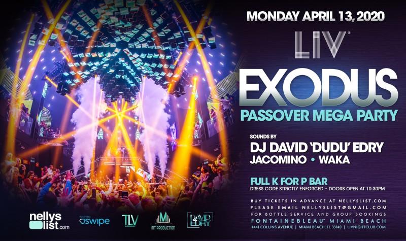 2020 Exodus at LIV Mega Party 800x475